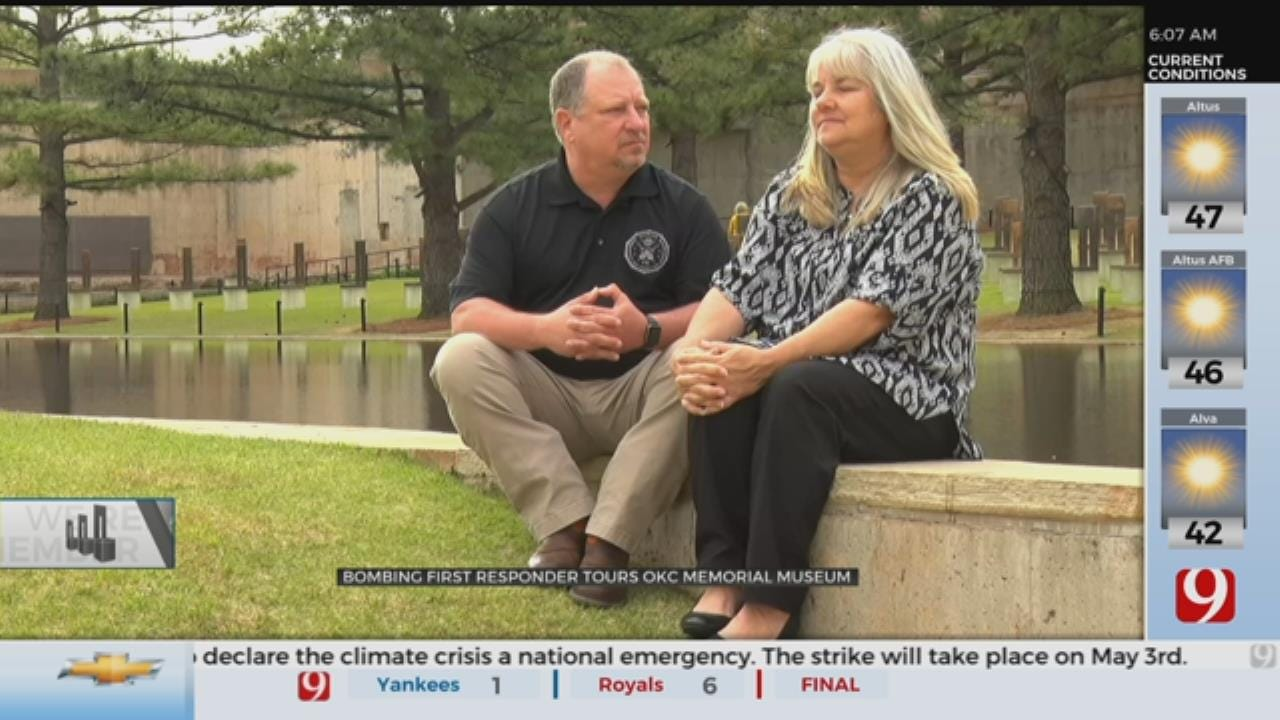 First Responder Remembers Murrah Federal Building Bombing While Touring Museum