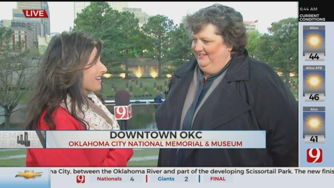 Interview With Executive Director Of Oklahoma City National Memorial And Museum