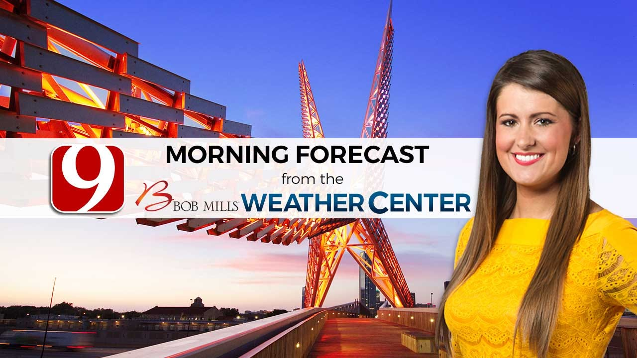Lacey's 5 A.M. Friday Forecast