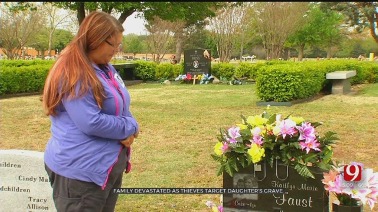 Family Devastated After Thieves Target Daughter's Grave In Spencer