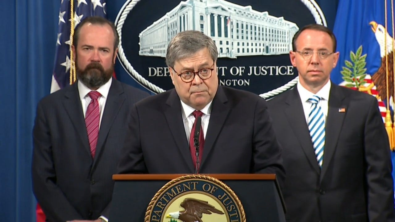 AG Barr: President Trump Faced 'Unprecedented Situation'
