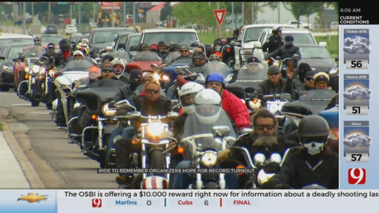 Ride To Remember Organizers Hope For Record Turnout