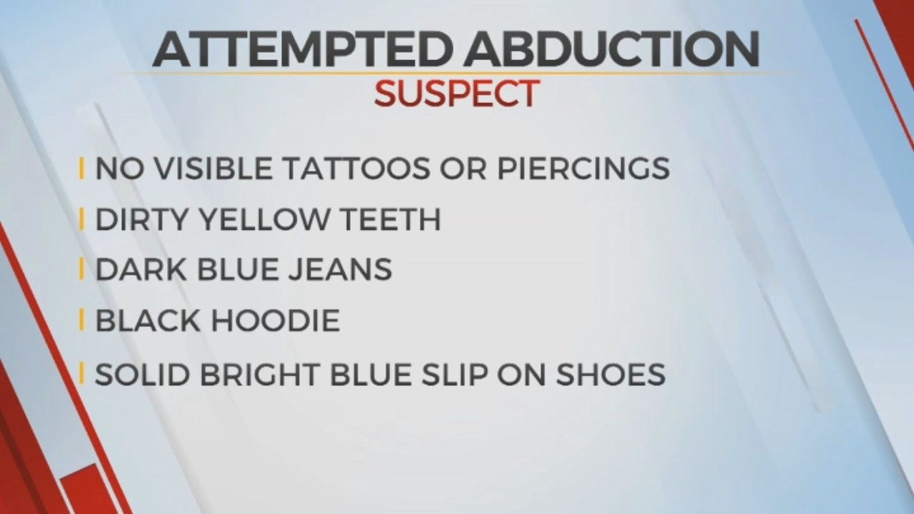 Tuttle Police Seeking Man Accused Of Attempting To Abduct Young Girl