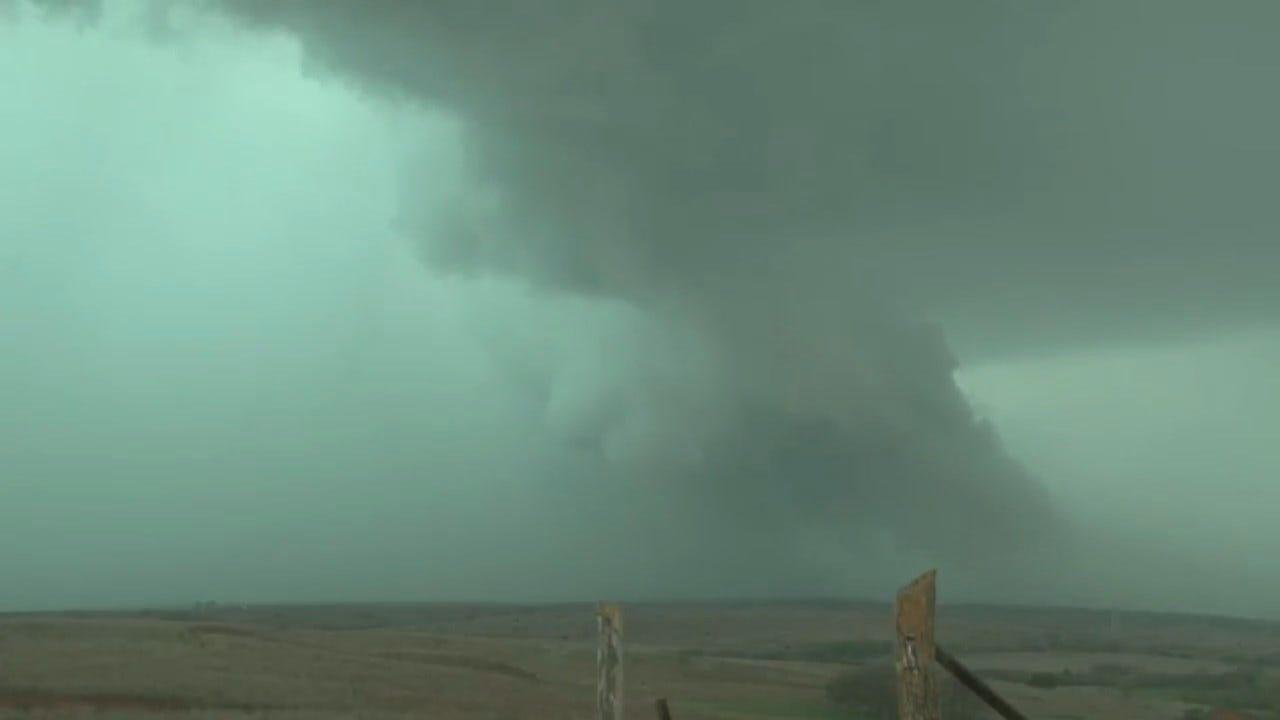 Alan Broerse Spotted A Tornado In NW OK