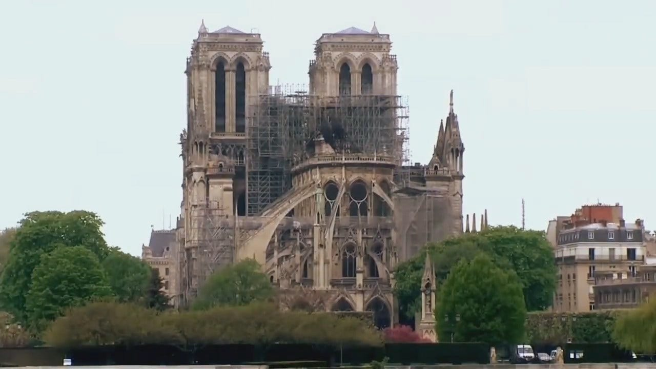 Notre Dame Cathedral Blaze Prompts Nearly $1 Billion In Pledges