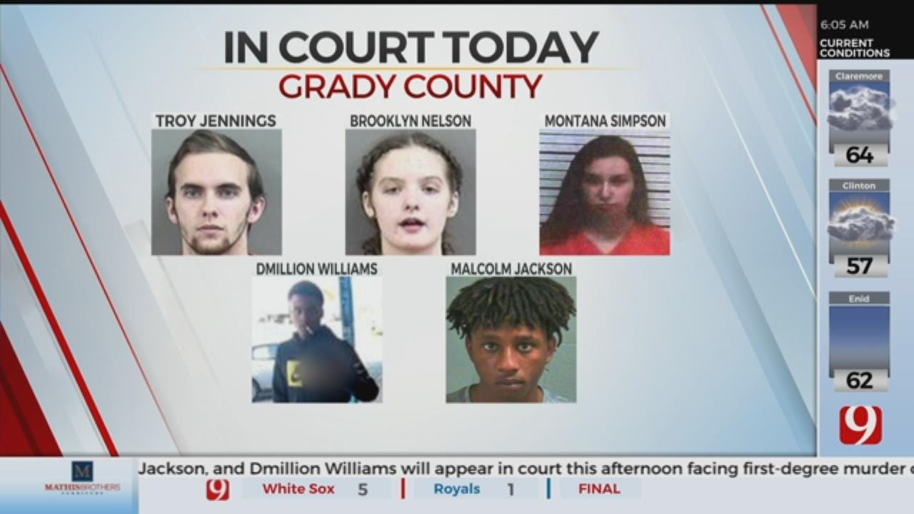 5 Suspects To Appear In Court After Chickasha Fatal Shooting