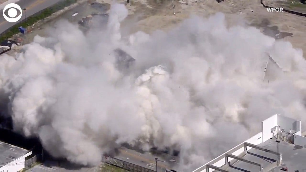 WATCH: Hospital Implosion In Florida