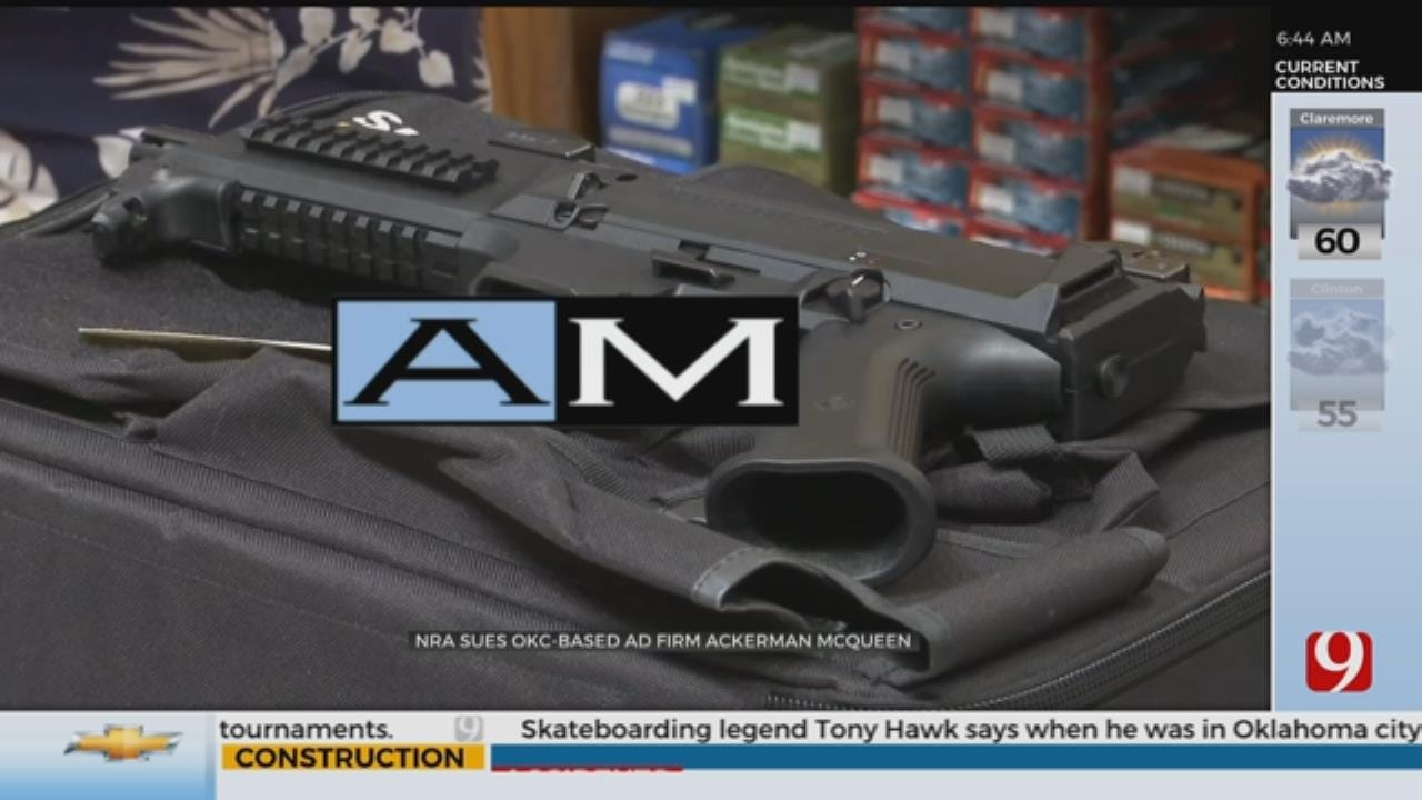 NRA Sues Oklahoma City Based Ad Firm Ackerman McQueen