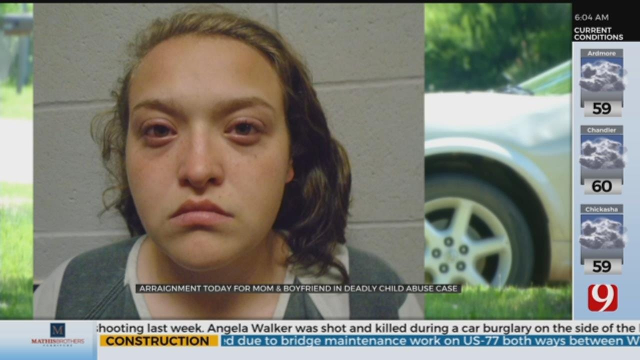 Arraignment Held Tuesday For Mom, Boyfriend In Deadly Child Abuse Case