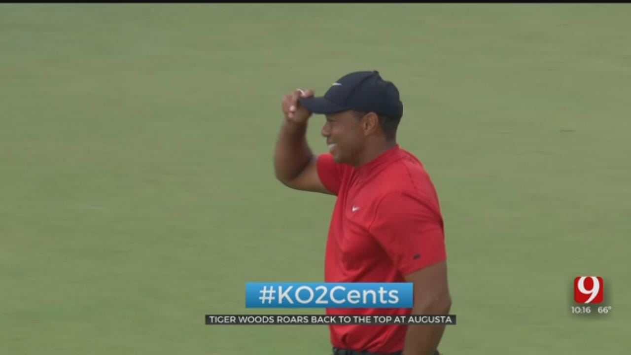 My 2 Cents: Tiger Woods Roars Back To The Top