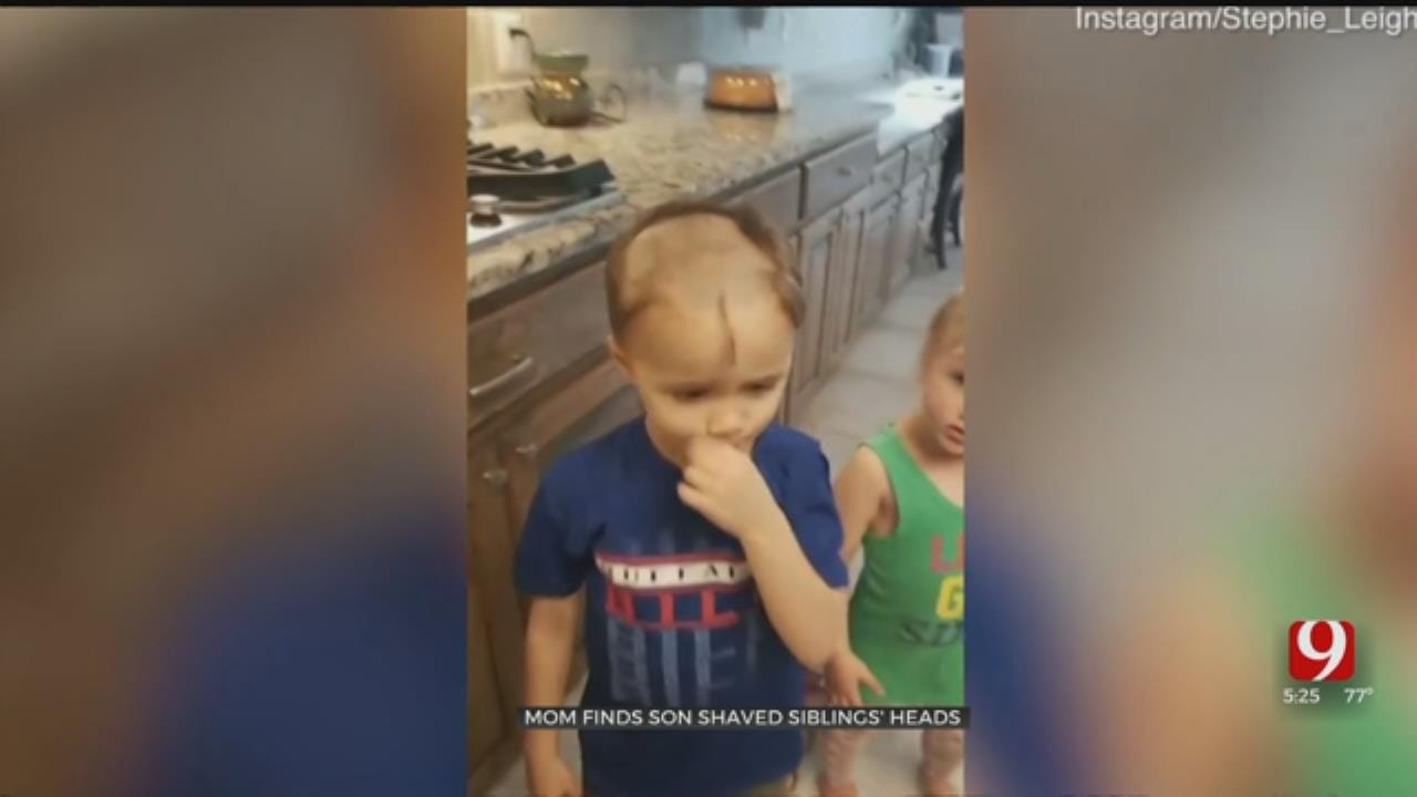 CHECK THIS OUT: Mom Finds Son Shaved Siblings' Heads