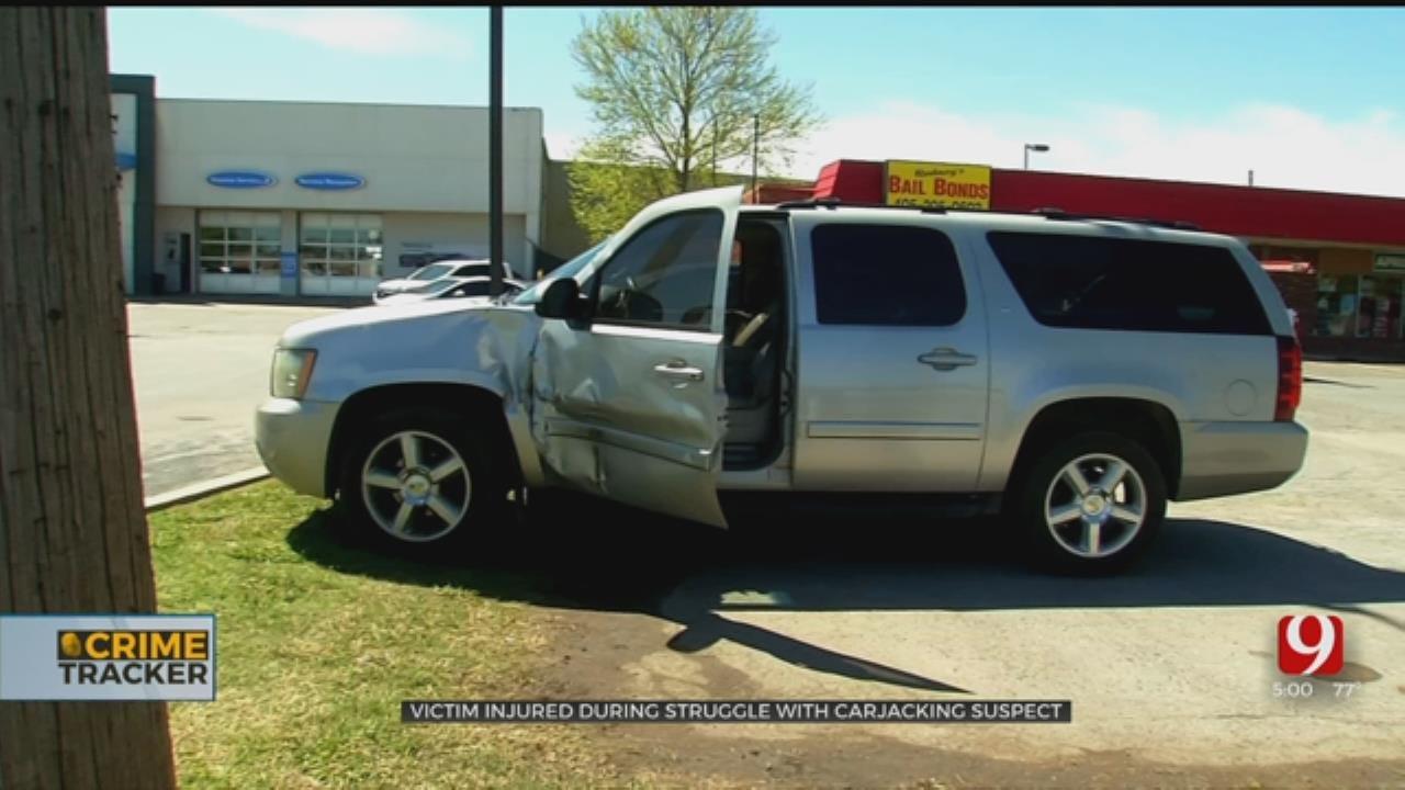 OKC Man Dragged, Run Over During Carjacking At Convenience Store