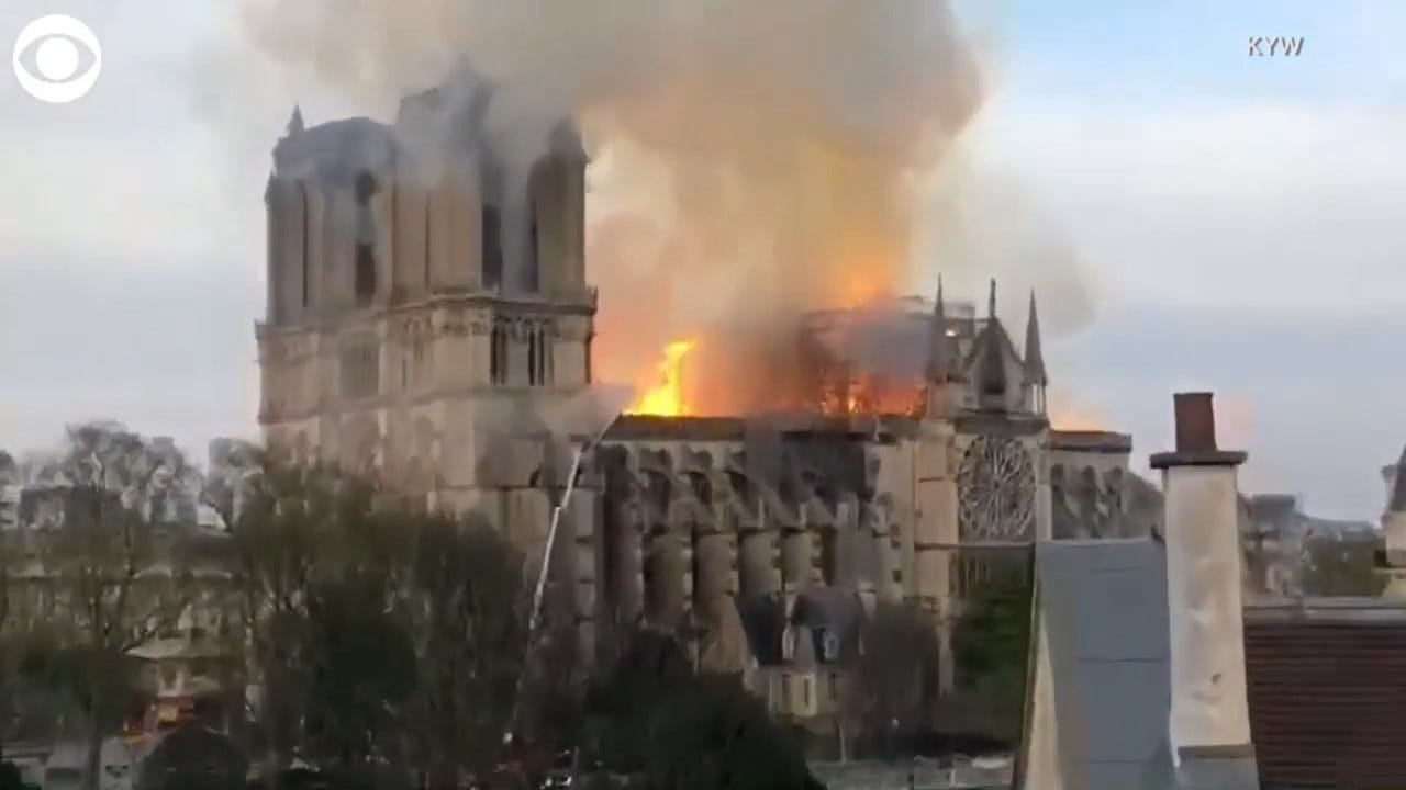 American Journalist Reports On Notre Dame Fire While On Vacation
