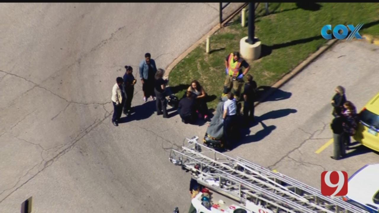 Person Reportedly Hit By Vehicle In NE OKC