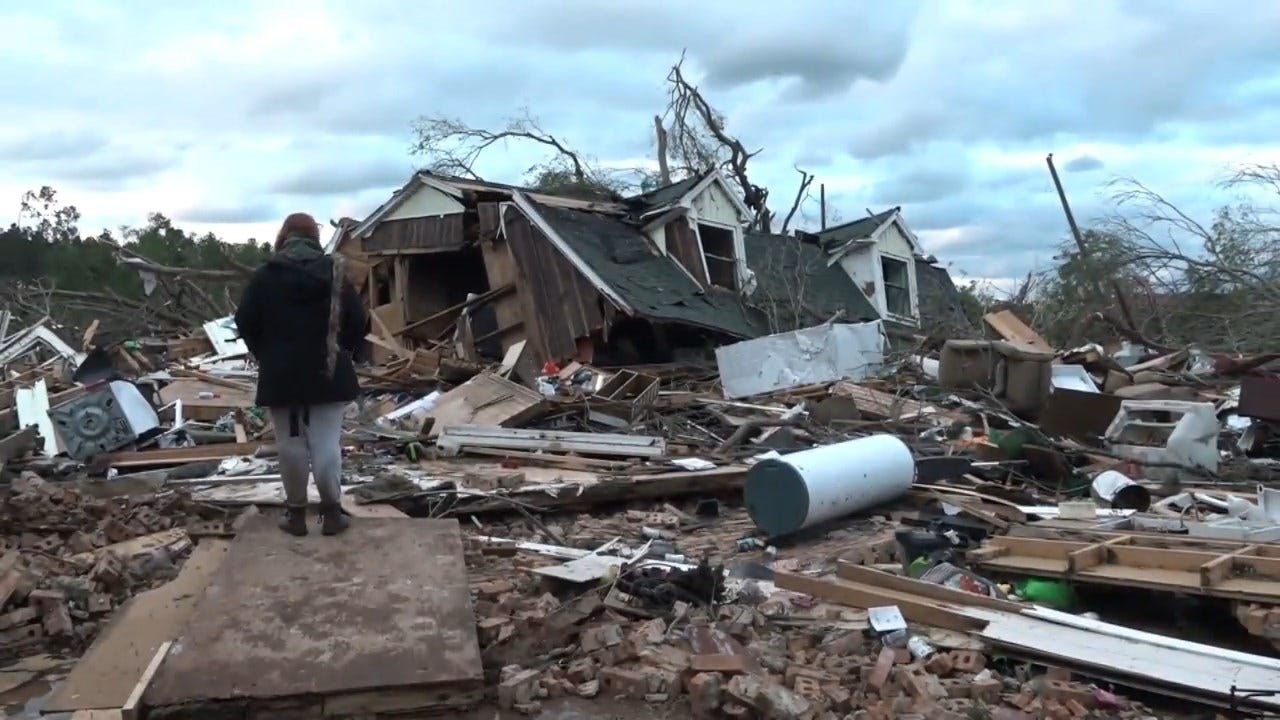 Deadly Storm System Spawns Tornadoes, Slams South, Heads Northeast