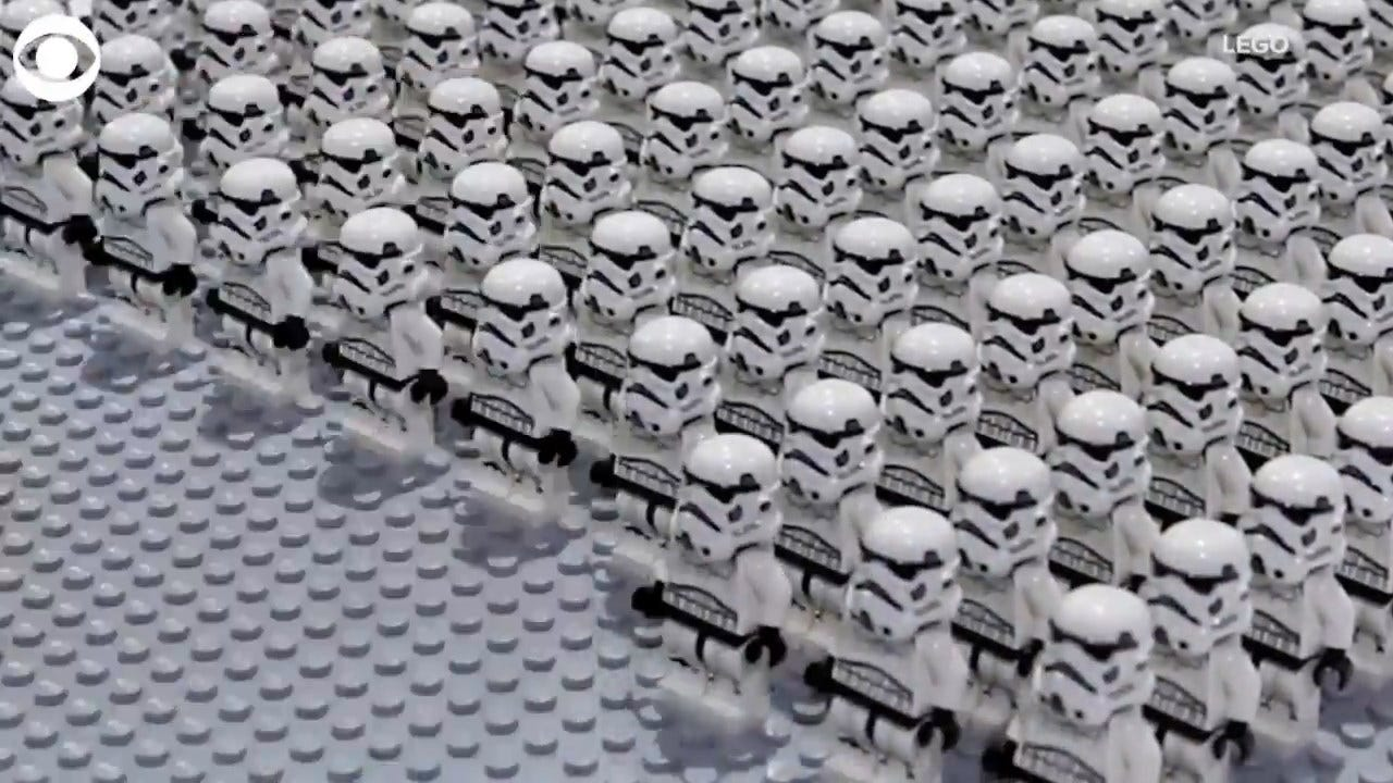 LEGO Creates Star Wars Masterpiece To Set World Record