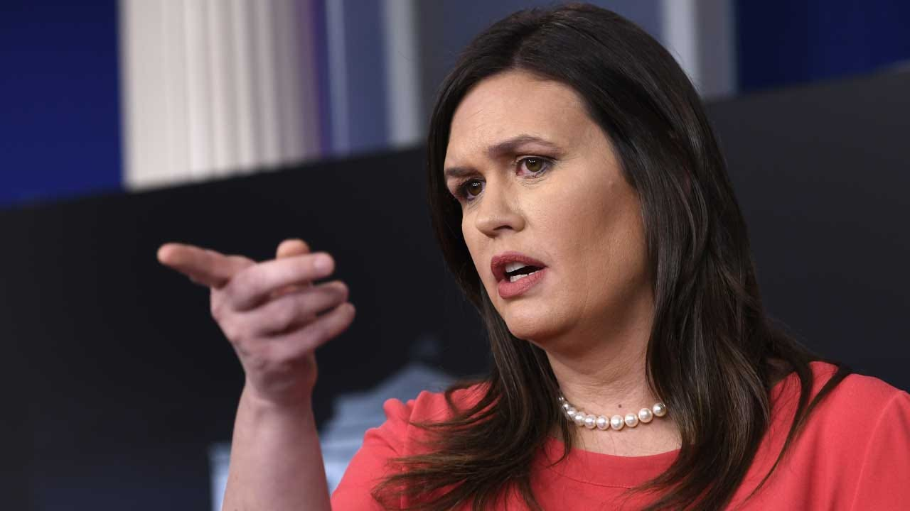 Sarah Sanders Says Trump Will Continue To 'Call Out' Ilhan Omar