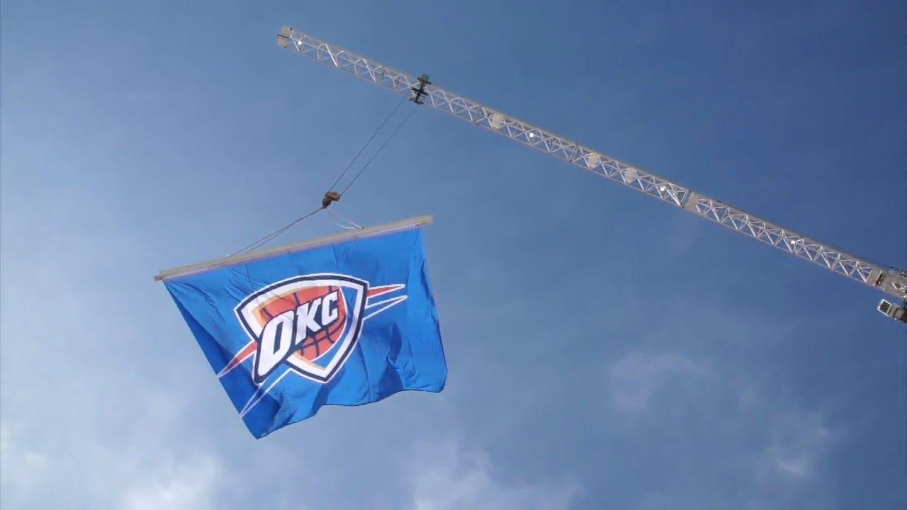 Oklahoma City Preps For 2019 NBA Playoffs