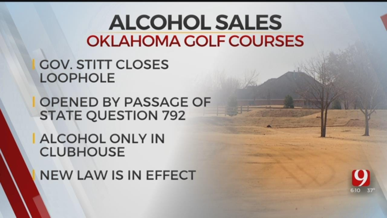 Governor Signs Bill Allowing Golfers To Buy Beer On The Course