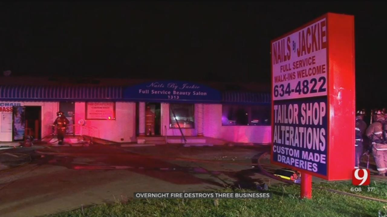 3 Businesses Lost In SW OKC Fire