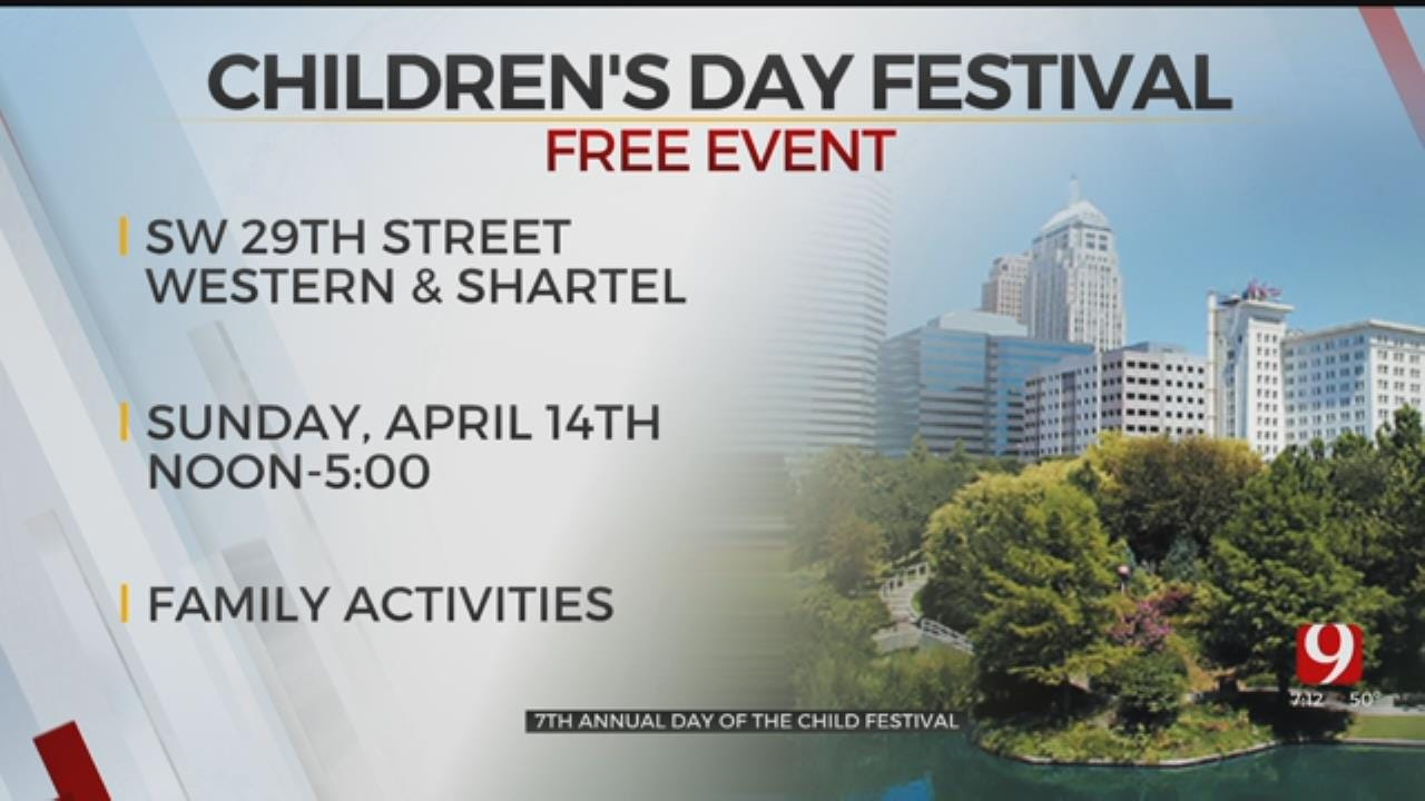 Children's Day Festival To Be Held Sunday In Southwest OKC