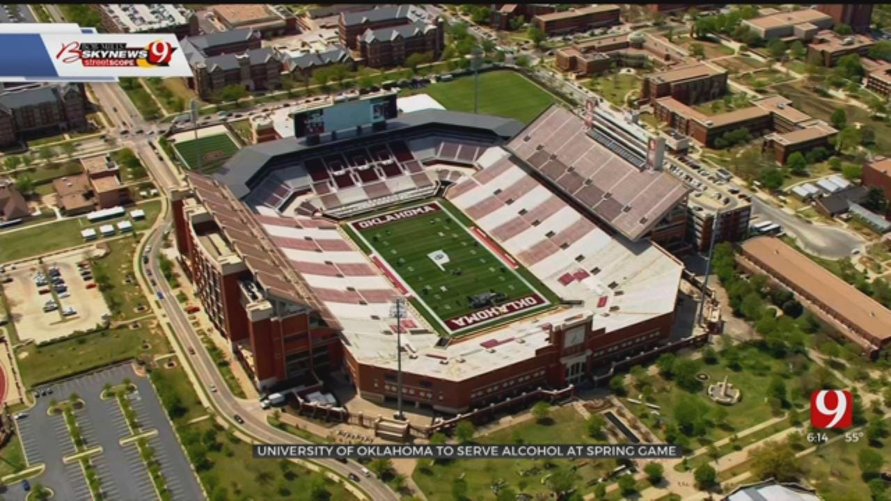 OU To Serve Alcohol At Spring Game