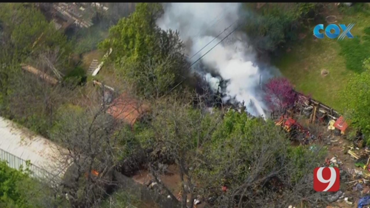 Structure Fire Reported In The Village