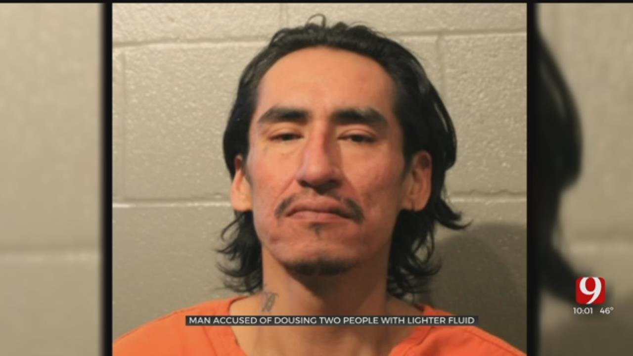 Man Accused Of Trying To Set 2 Victims On Fire Inside Norman Apartment