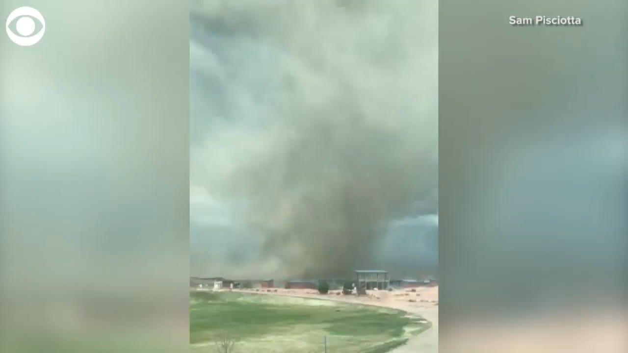 WATCH: 'Gustnado' Caught On Camera In Colorado