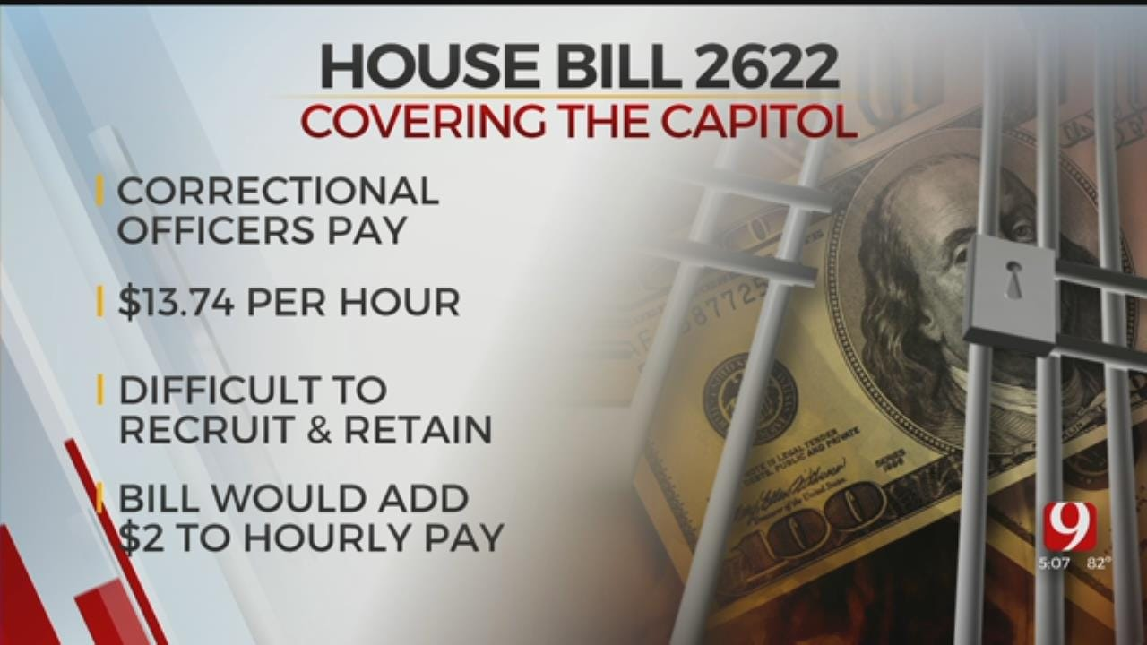 Bill To Increase Correction Officers Pay Passes In State House Committee