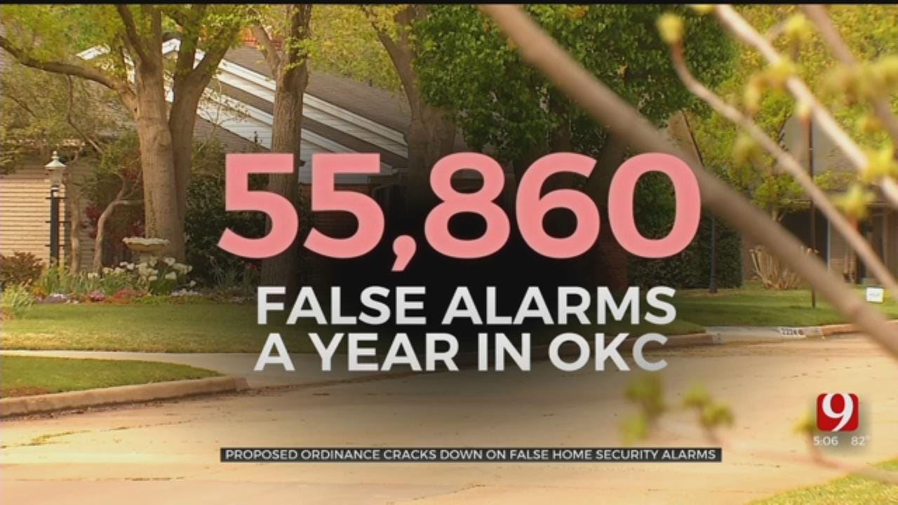 Proposed Ordinance Cracks Down On False Home Security Alarms In OKC