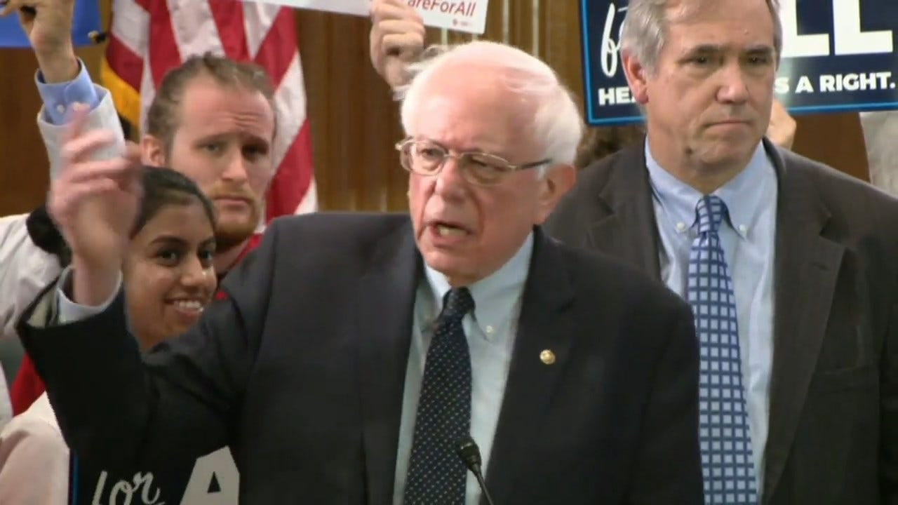 Sen. Bernie Sanders Introduces The Medicare For All Act Of 2019
