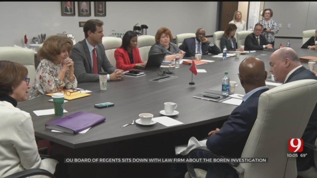 OU Board Of Regents Meets With Law Firm About Boren Investigation