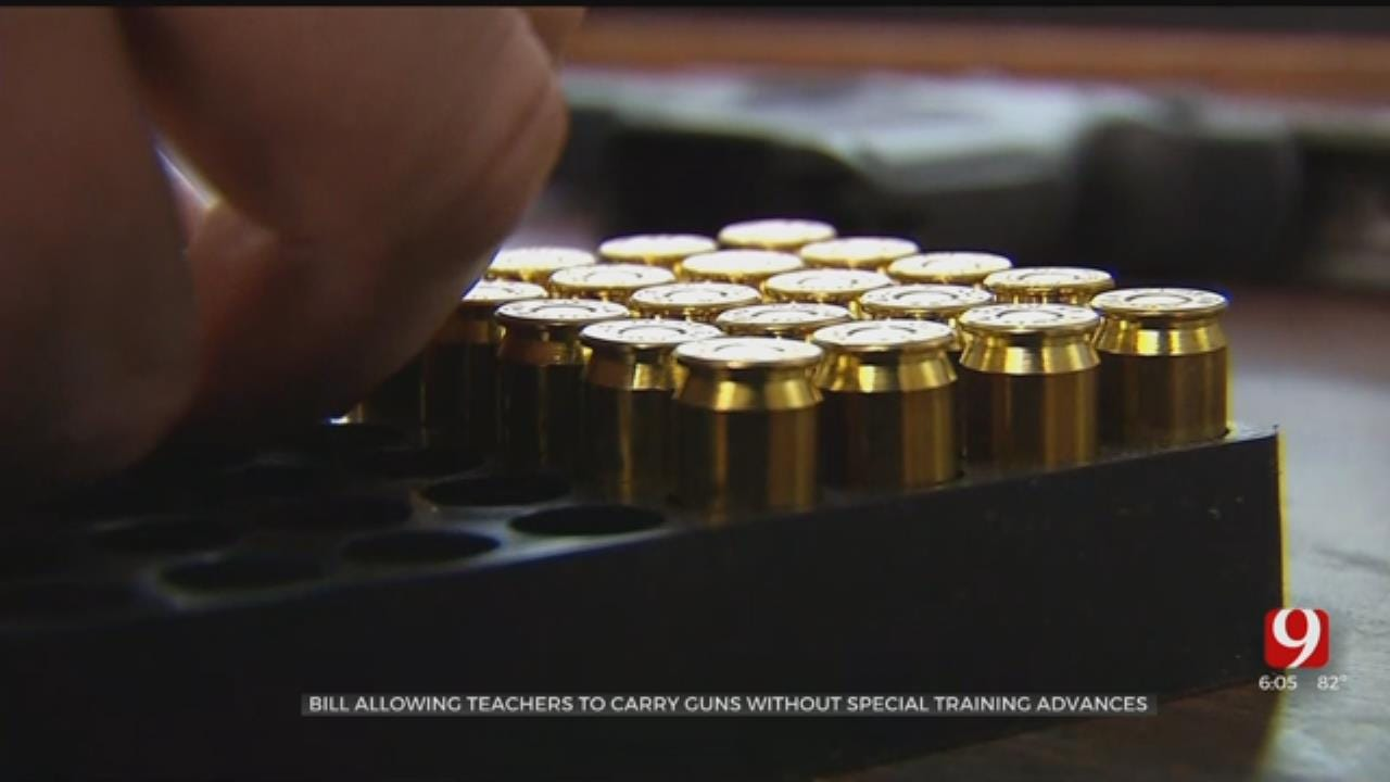 Bill Allowing Oklahoma Teachers To Carry Guns Without Special Training Advances