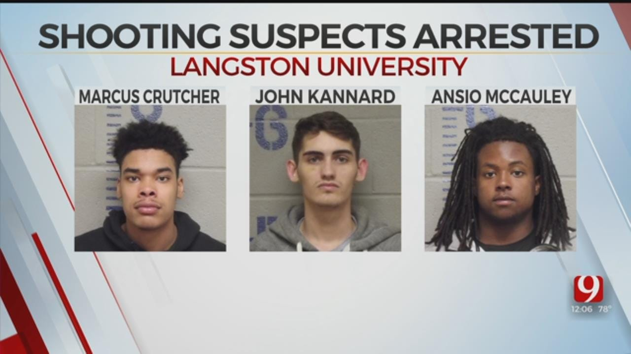 OSBI: Charges Filed Against 5 Accused In Shooting At Langston University