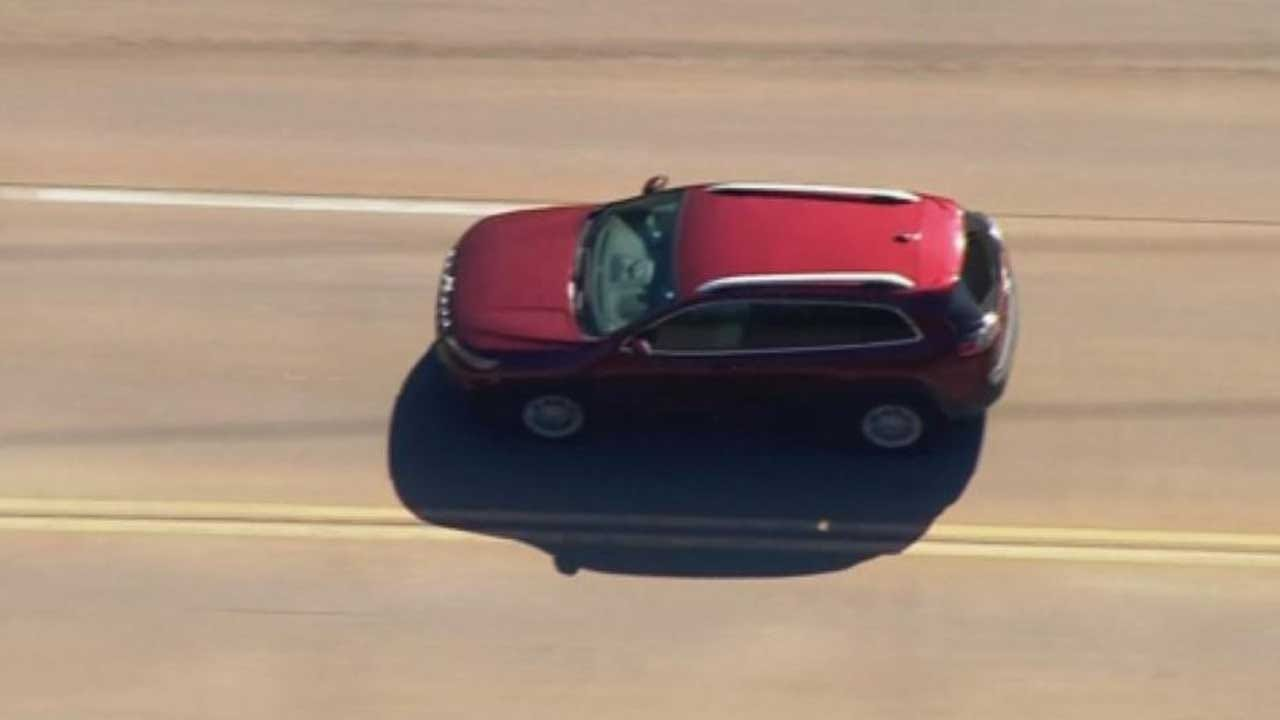 Suspect Leads Police On Pursuit In Oklahoma City