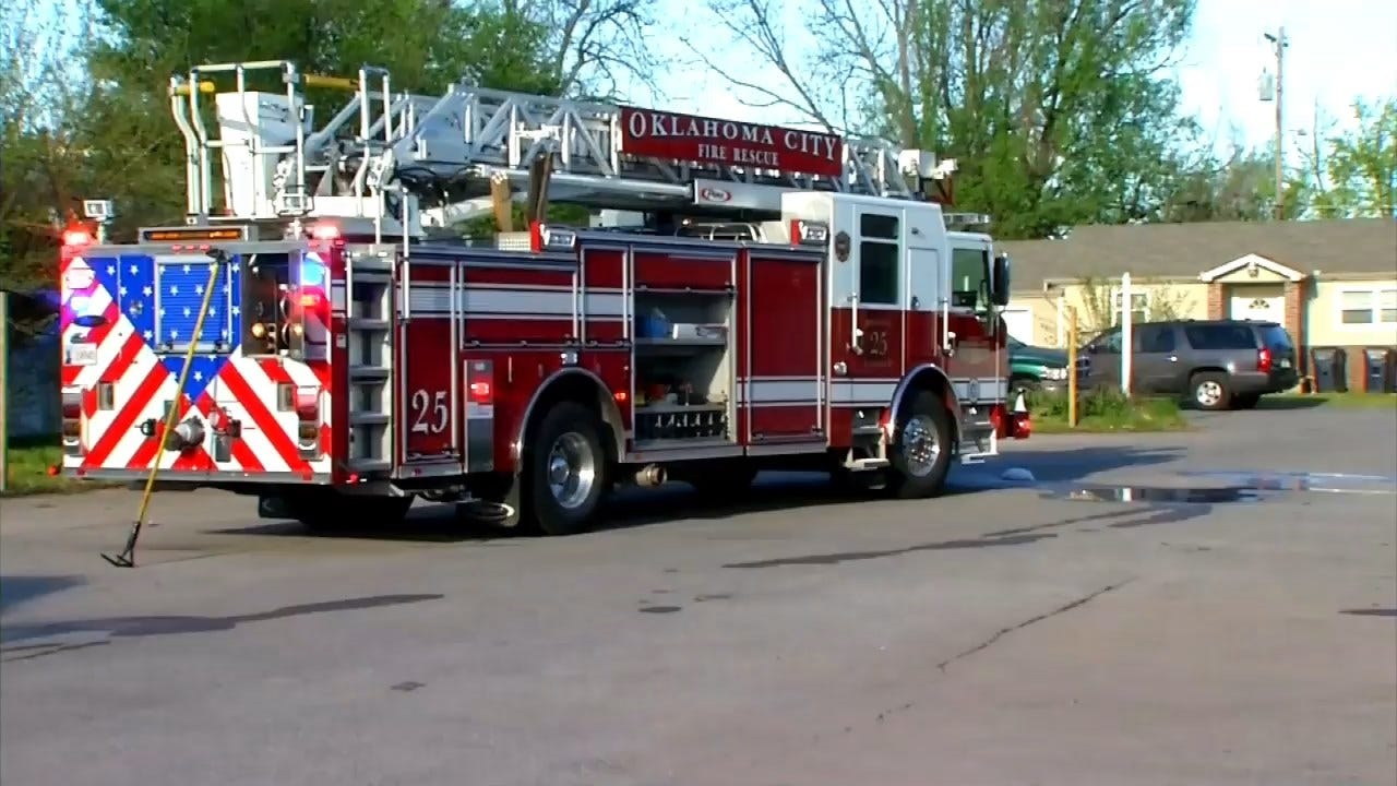 WATCH: Firefighters Respond To SW OKC Commercial Fire