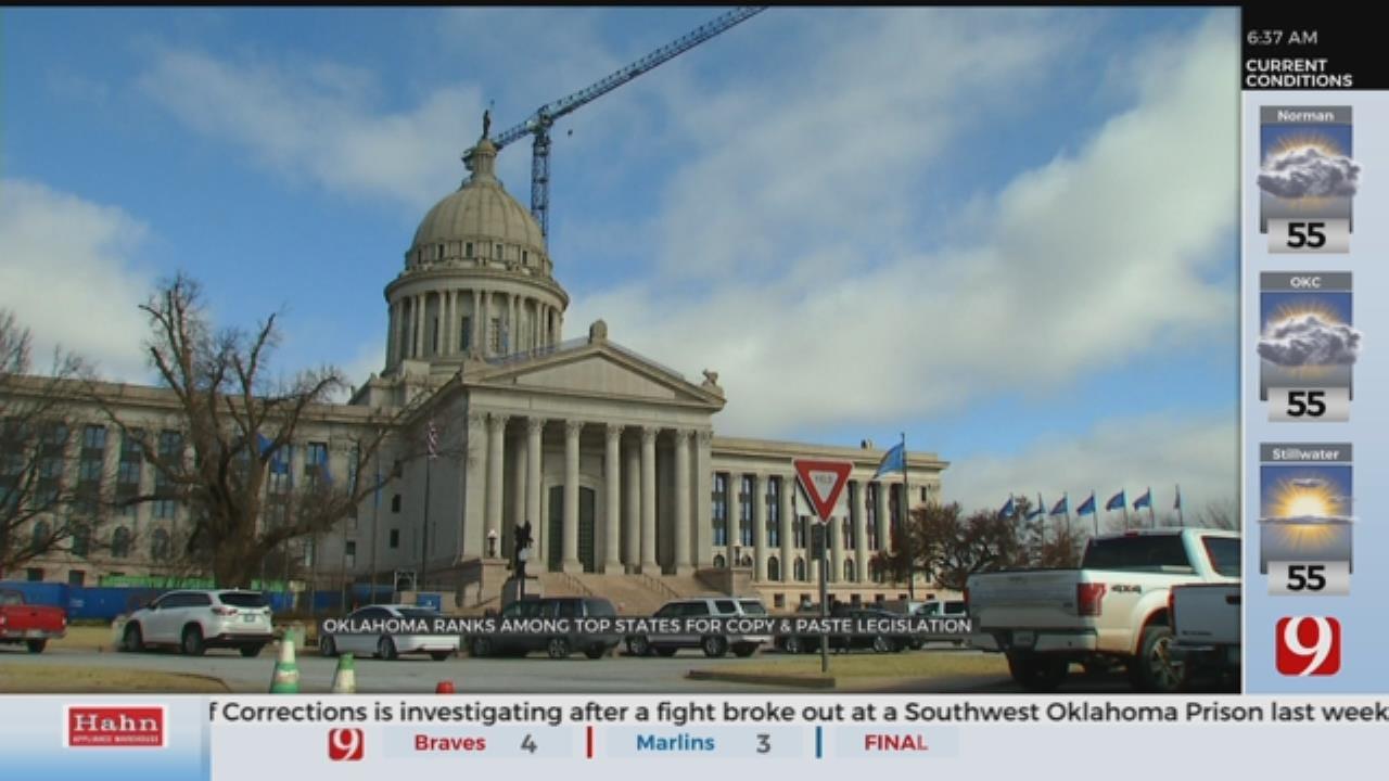 Okla. Legislature Ranks Among Worst For Using Copy-Paste Bills
