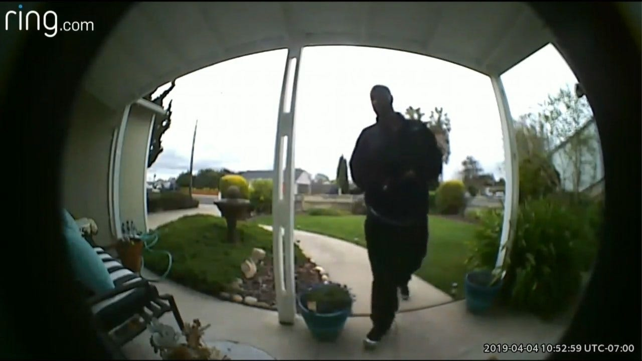 Caught On Camera: Uber Driver Returns To Burglarize Home Of His Riders