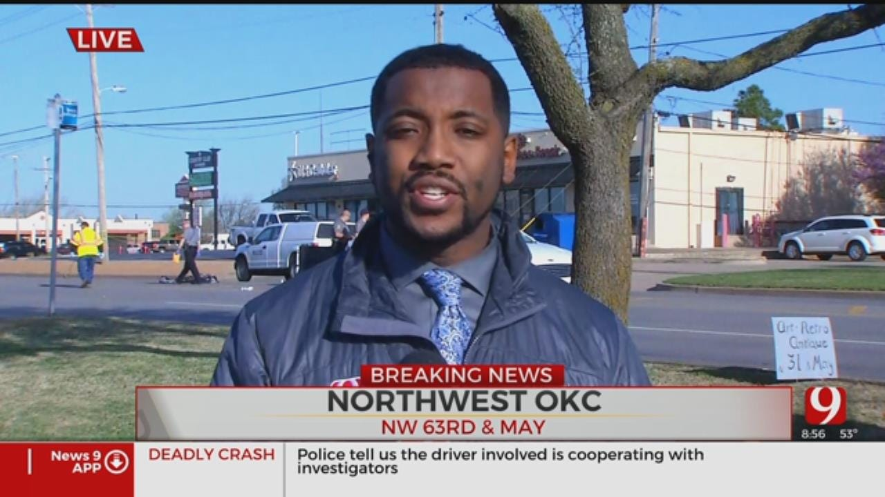 Elderly Man Killed After Being Struck By Vehicle In NW OKC