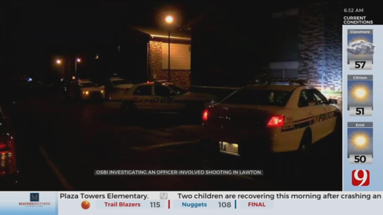 OSBI Investigating Officer-Involved Shooting In Lawton