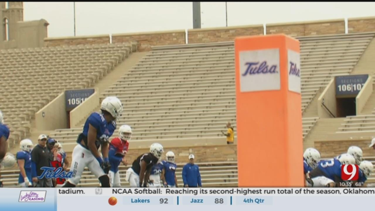Tulsa Continues Spring Practice
