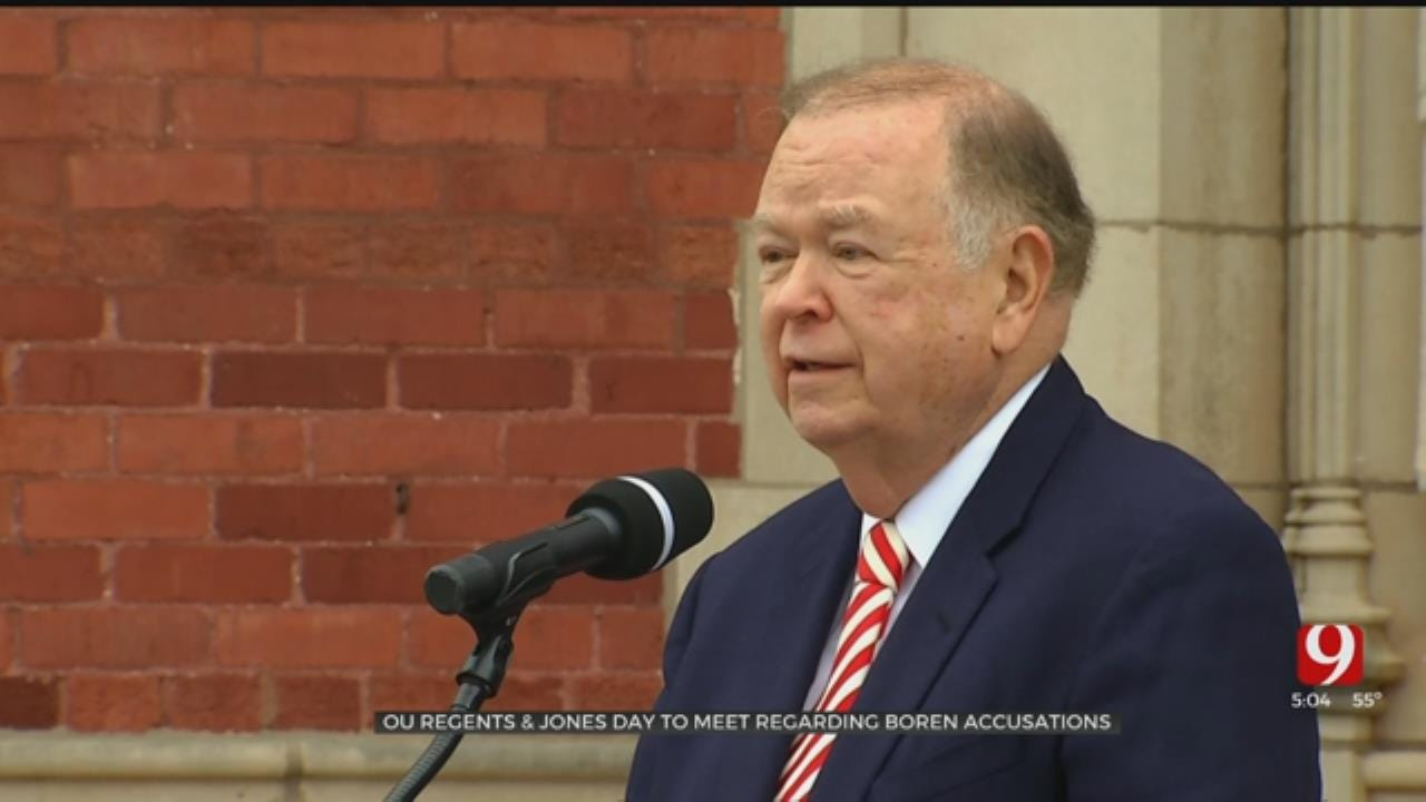 OU Board Of Regents To Discuss Allegations Against Former President Boren