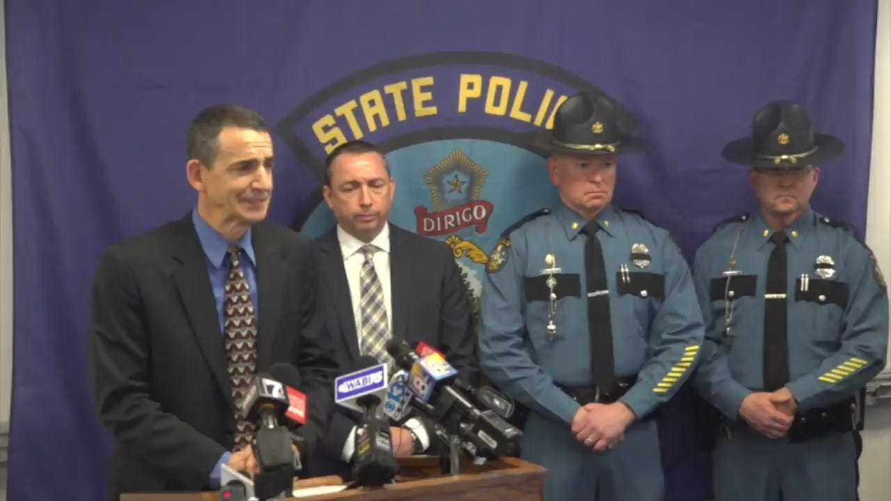 State Trooper Killed By Wheel That Came Off Logging Truck