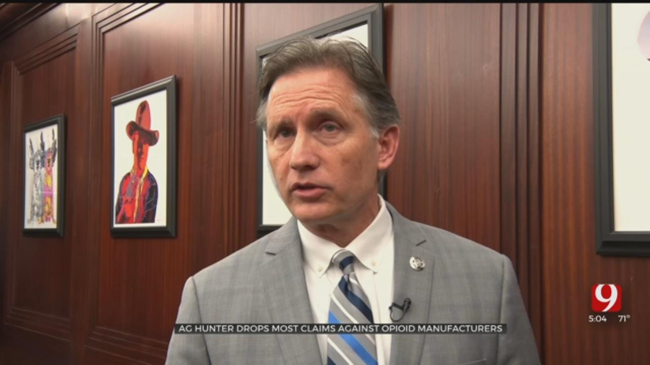 AG Mike Hunter Explains Decision To Drop Most Claims In Opioid Lawsuit