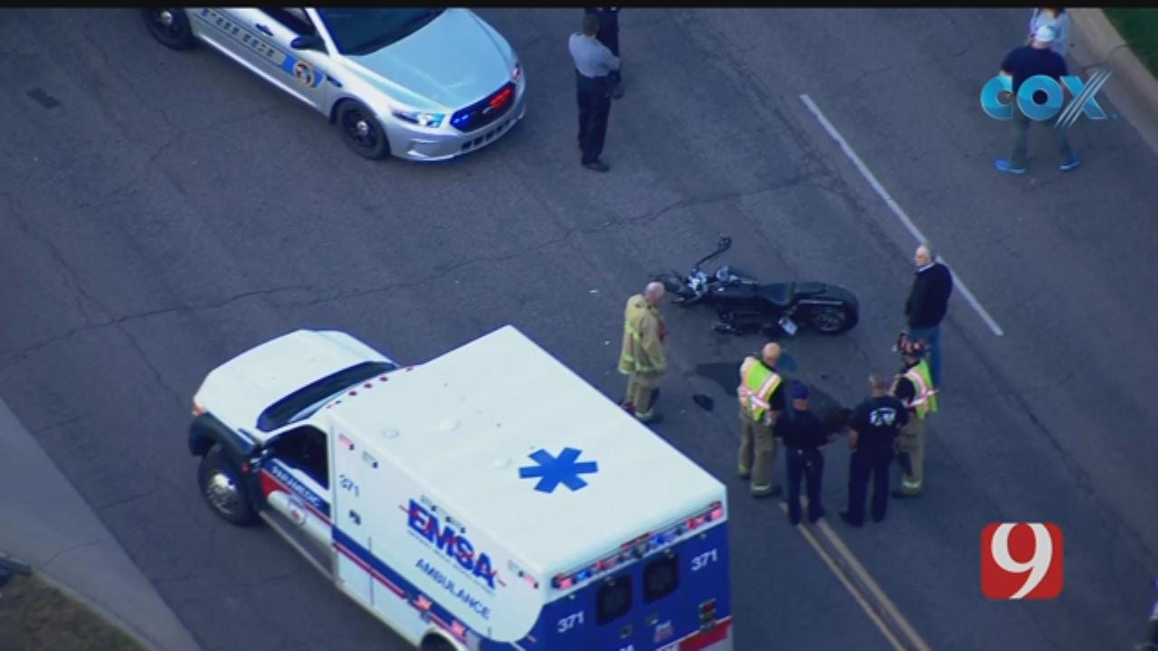 Motorcycle Crash Reported In Nichols Hills