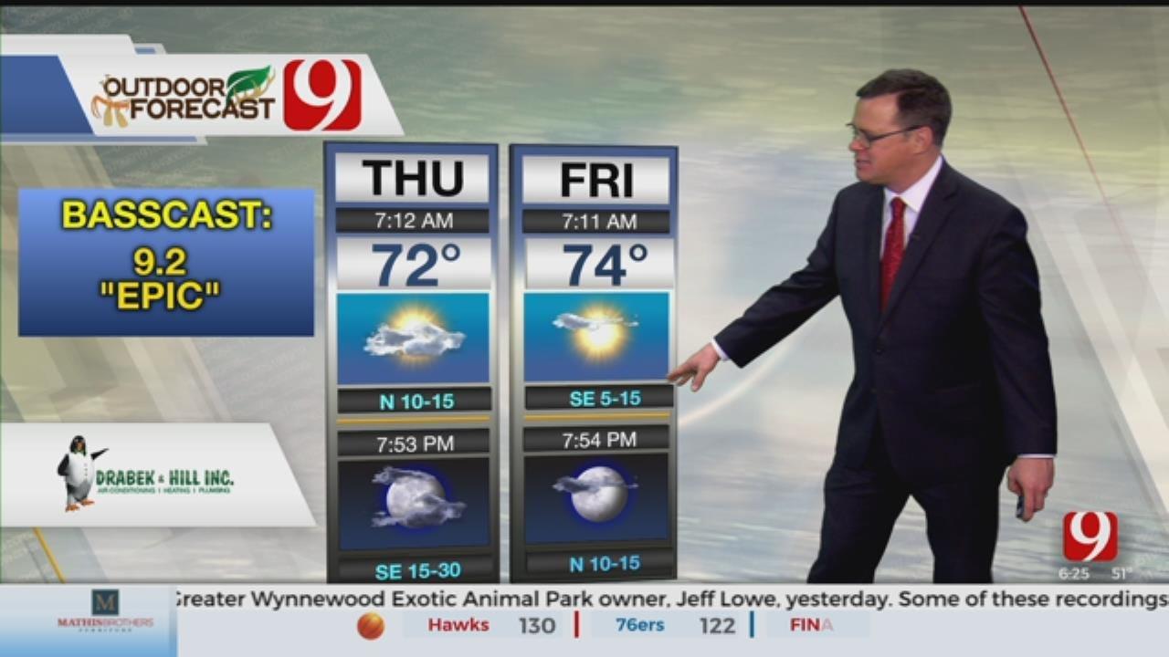 Thursday Outdoor Forecast