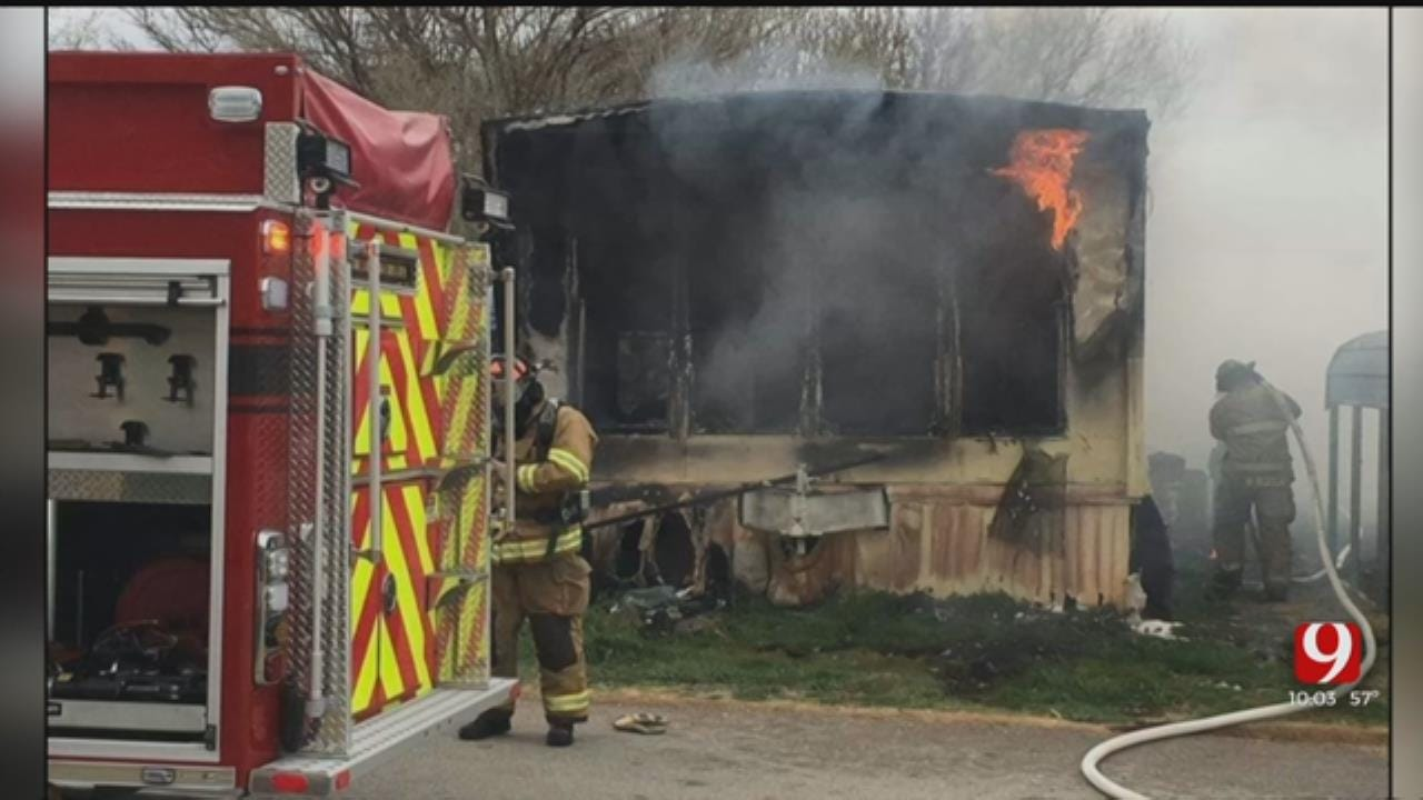 3 Dead Following Fire At Mobile Home In Elk City
