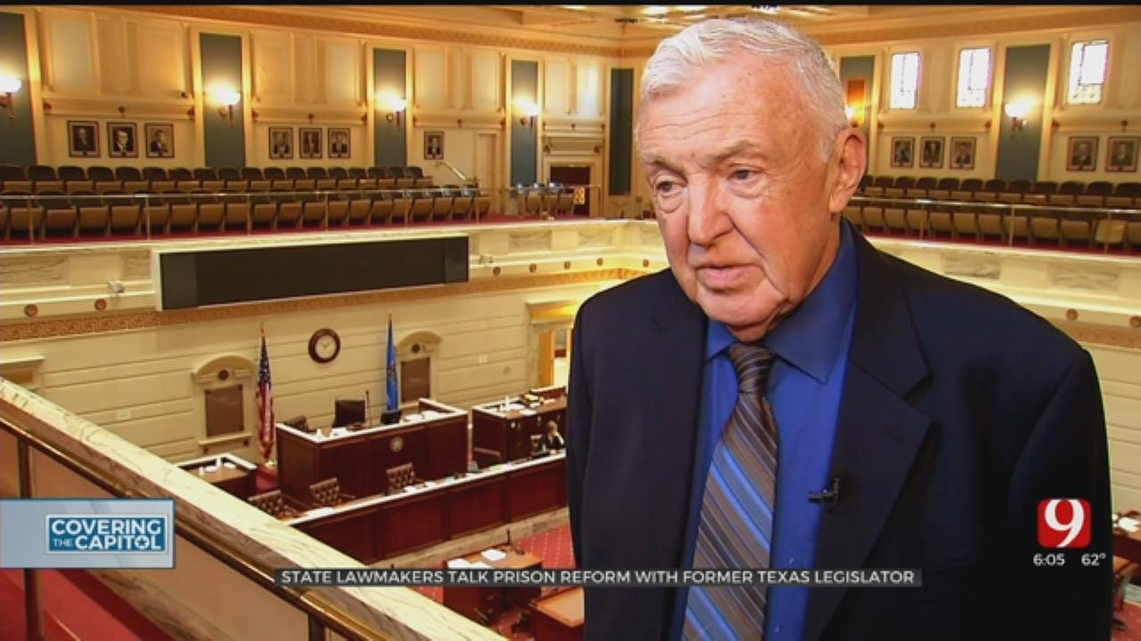 Former Texas Lawmaker In Oklahoma To Talk About Criminal Justice Reform