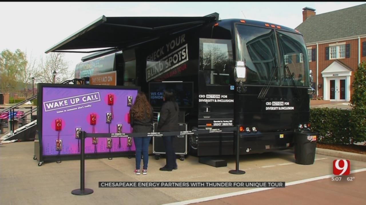 Chesapeake Energy Partners With OKC Thunder For Unique Tour